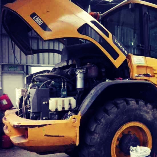 Volvo loaders dpf